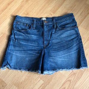 Jcrew denim shorts